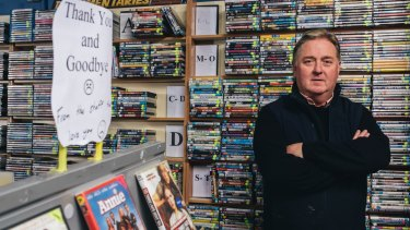 Blockbuster Dickson owner Paul Davis: 'It's been a great run, but the time has come.'