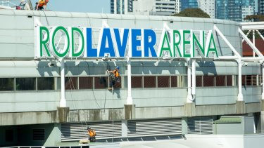 Rod Laver Arena.