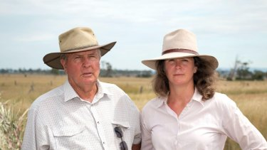 Sid and Tanya Plant are members of a family that has been farming the area in the Darling Downs town of Acland since the 1850s.