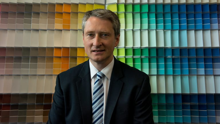 DuluxGroup managing director Patrick Houlihan. The company believes its offer of an annual 3 per cent pay rise to workers and no 'adverse' changes to conditions is fair and reasonable.