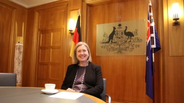 Australia's Ambassador to Germany, Lynette Wood.