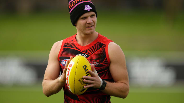 Michael Hurley has had two bouts of off-season surgery.