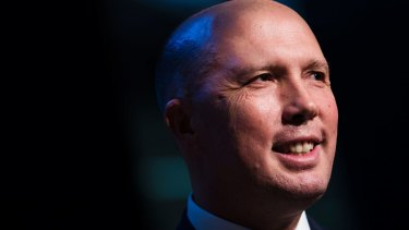 Home Affairs Minister Peter Dutton has blasted the Victorian government over street crime.