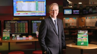 Tabcorp CEO David Attenborough says merging with Tatts could deliver savings of $130 million a year.