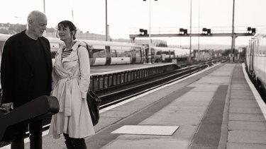 Guitarist David Gilmour and novelist Polly Samson are musical and life partners,
