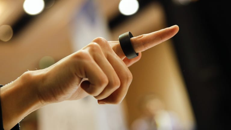 Ring from Logbar is a smart wearable that allows you to control your devices with the wave of a hand or the press of a button.