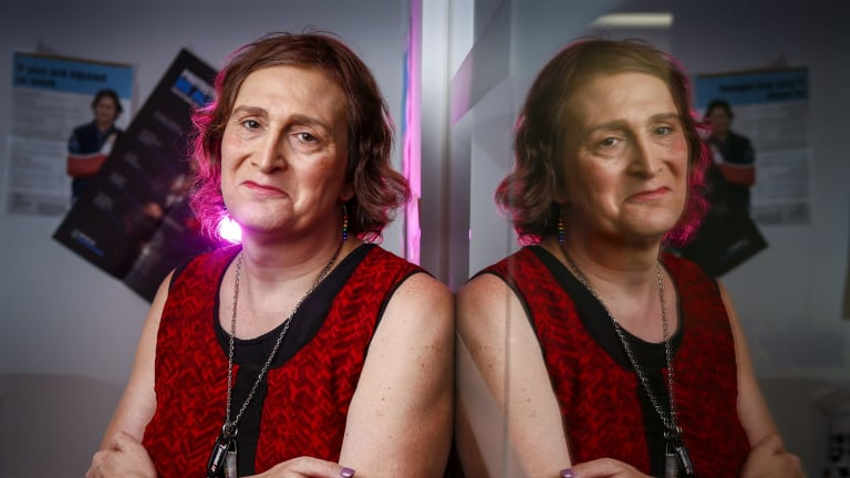 Sally Goldner, the head of Transgender Victoria, is the winner of this year's GLBTI Person of the year award.