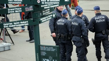 Belgian police say they have foiled a planned terrorist attack after the arrest of a man in Brussels.