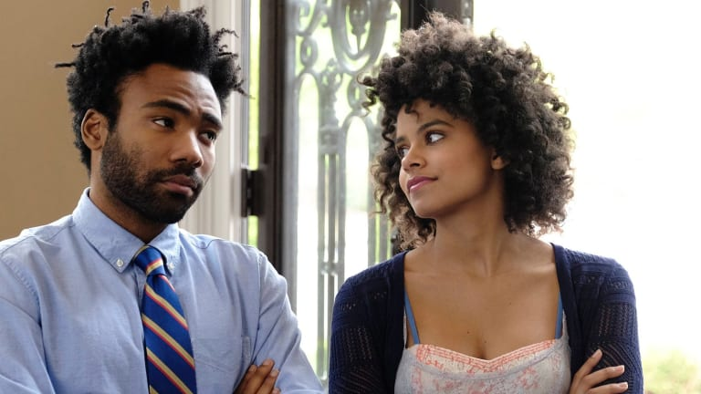 Donald Glover and Zazie Beetz in Atlanta.