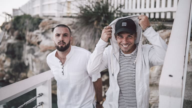 Spit Syndicate: Nick Lupi and Jimmy Nice have used the success of fourth album One Good Shirt Had Us All Fly to spur themselves on.