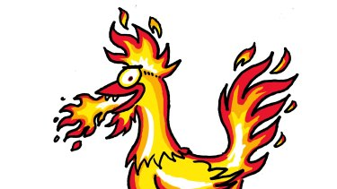 The fire rooster. Illustrations by John Shakespeare.
