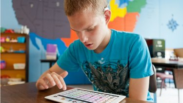 Assistive technology helping students with disabilities and learning