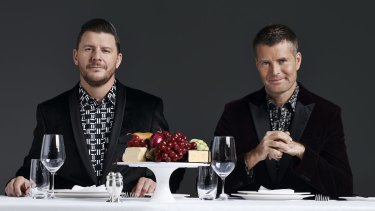 The My Kitchen Rules judge, pictured right, has attracted controversy for his health advice.