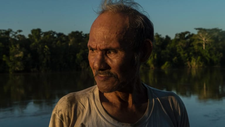 Amadeo Garcia Garcia's Taushiro tribe vanished into the jungles of the Amazon basin in Peru generations ago.