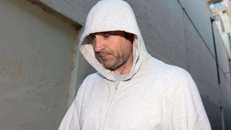 Benjamin Hampton outside court in 2014.