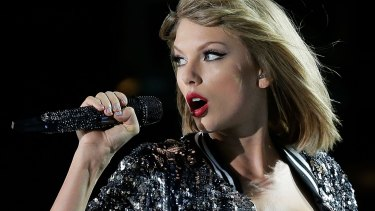 Taylor Swift, who is currently touring Australia.