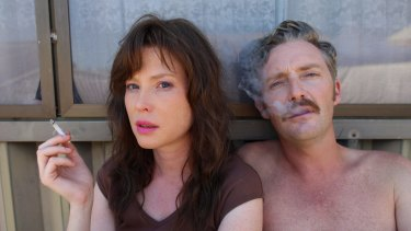 Emma Booth and Stephen Curry in Hounds of Love.