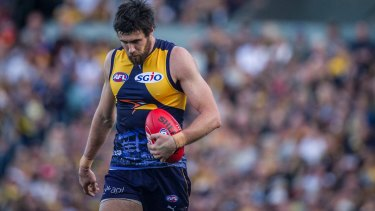 Josh Kennedy is hoping for a better finals performance in 2017.