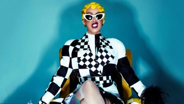 Cardi B: from stripper to rapper with an unscripted personality.