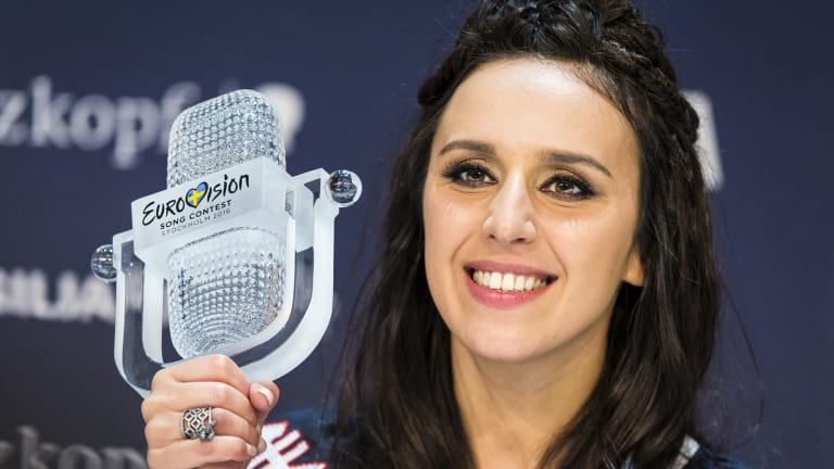 Jamala, winner of the 2016 Eurovision Song Contest.