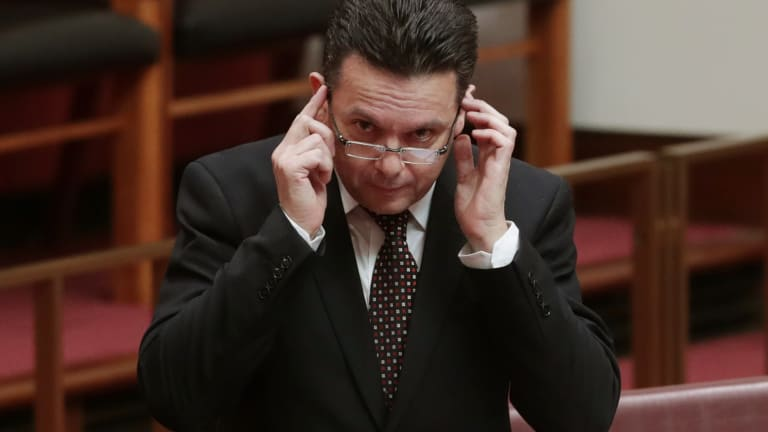 """""""Media companies large and small are under a great deal of pressure"""": Senator Nick Xenophon."""