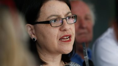 Minister for Families and Children Jenny Mikakos.