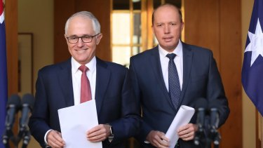 Prime Minister Malcolm Turnbull and Immigration Minister Peter Dutton announced the scrapping of 457 visas.