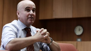 """Education Minister Adrian Piccoli was """"not in a position"""" to meet ethics providers."""