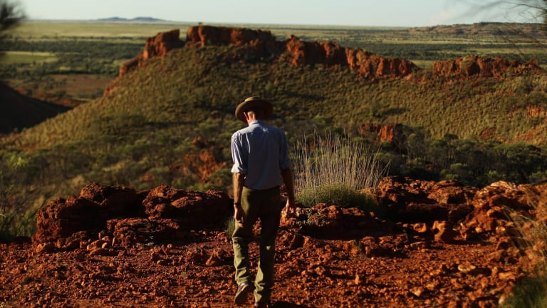 Charlie Phillott, 87, at the central-west Queensland farm he had run since 1960. He was evicted last year.