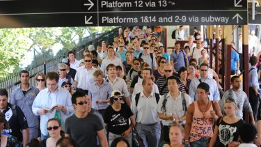 Commuters face train chaos due to industrial action.