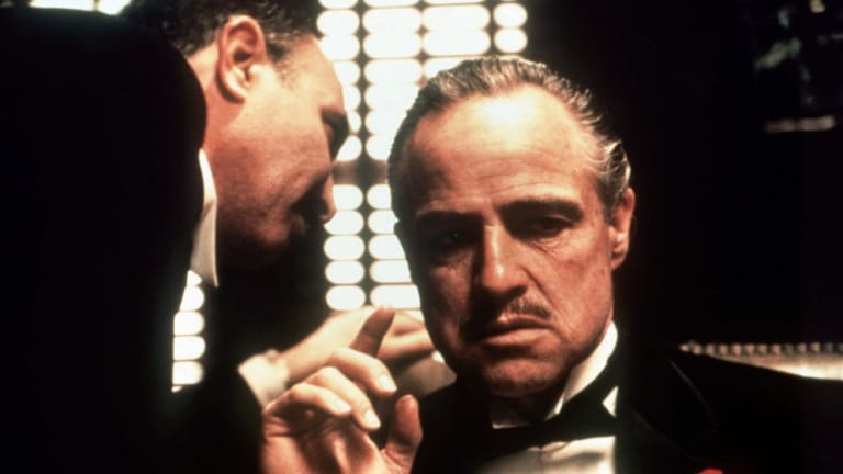 """Don Vito Corleone in The Godfather made offers that """"couldn't be refused""""."""