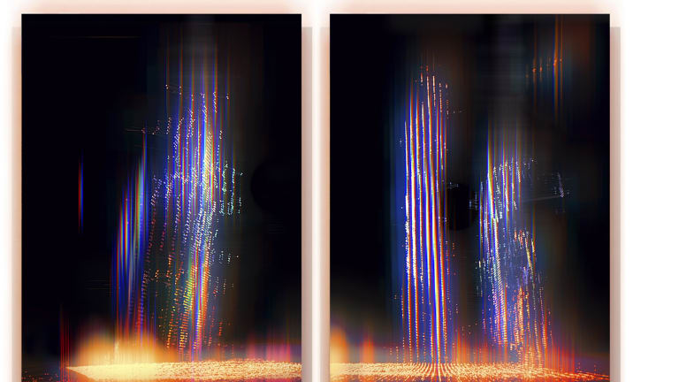 Alexander Boynes, <I>Reduced to a Code<I> in <I>Body/Time/Light<I> at Beaver Galleries.