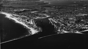 How Fremantle looked in 1966: Perth is now 150km from end to end.