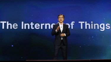 The Internet of Things will change our lives for the better, says Samsung's BK Yoon.
