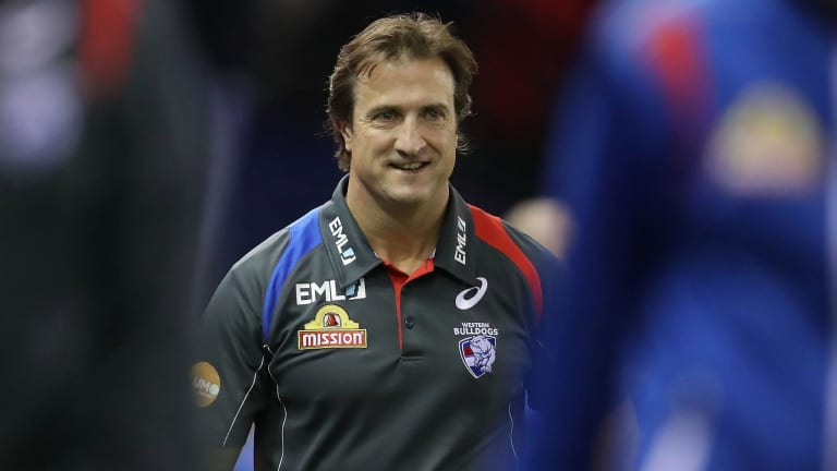 Luke Beveridge loved observing State of Origin in the NRL, but doesn't think it's right for the AFL.