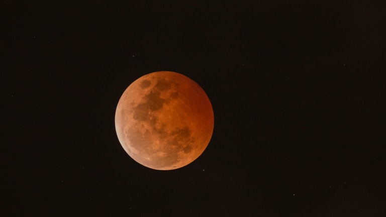 Saturday's blood moon will be the last Australians will see until 2018.