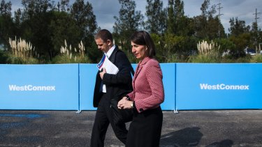Premier Gladys Berejiklian says the gateway project is not part of WestConnex.