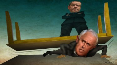 Bill Shorten has turned the tables on Prime Minister Malcolm Turnbull.