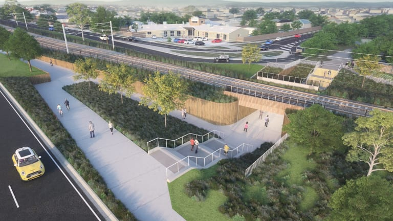 If the project goes ahead it would see a 'village' built on the site of Carrum's old and ugly rail stabling yard.