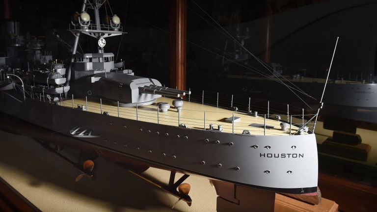 A replica of the HSS Houston.