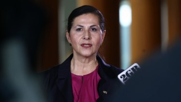 Minister for International Development Concetta Fierravanti-Wells.