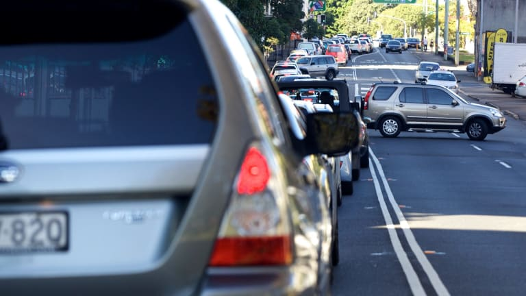 Lachlan Street in Waterloo will be widened from two to four lanes under the plans.