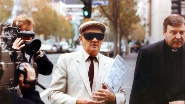 Gerald Ridsdale outside court in 1993.
