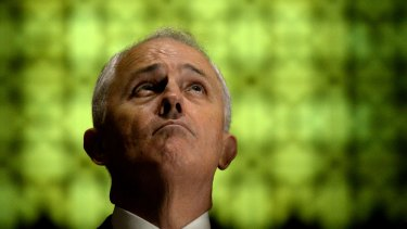 Not quite in the clear: Prime Minister Malcolm Turnbull.