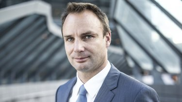 Cabcharge CEO Andrew Skelton.