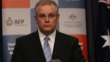 Controversial Tamils in India 'only months': Scott Morrison.