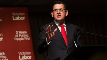 Premier Daniel Andrews has launched a comprehensive gender equality strategy for the state.