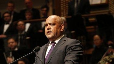 Aboriginal leader Noel Pearson.