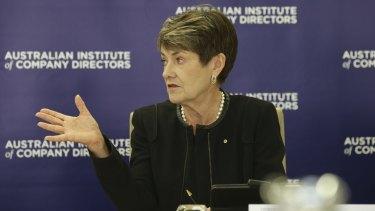 Australian Institute of Company Directors chairman Elizabeth Proust.