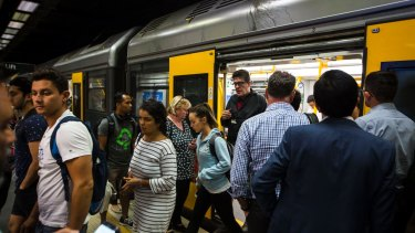 Sydney's rail network is under extreme pressure.